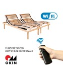 LUXURY LINE WI-FI - Rete motorizzata con telecomando wireless