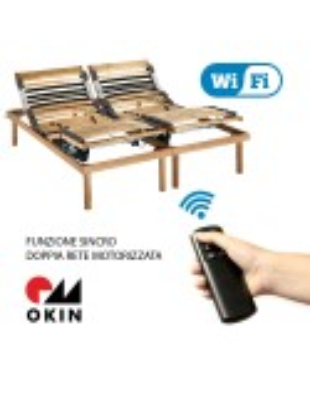 PLATINUM WI-FI - Rete motorizzata con telecomando senza fili