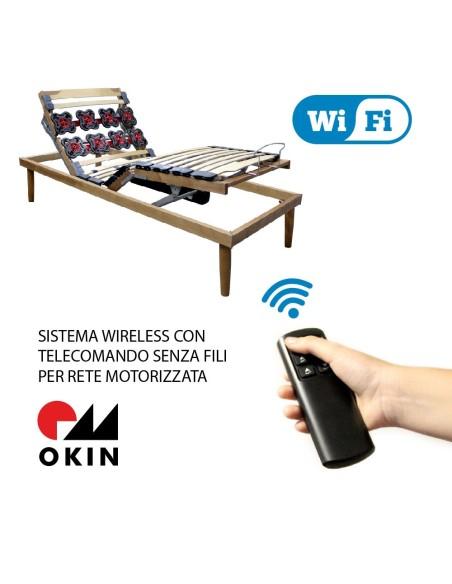 ROYAL WI-FI - Rete motorizzata erogonomica con telecomando senza fili